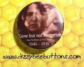 "Harry Potter Professor Snape Alan Rickman Memorial Pin - 1.25"" or 1.5"" - Pinback Button - Magnet - Keychain - Slytherin - Professor Snape"