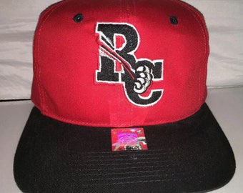Vintage New Britain Rock Cats Snapback hat cap rare 90s minor league baseball MiLB deadstock