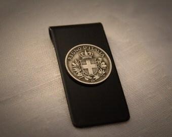 Italian Coin Money Clip
