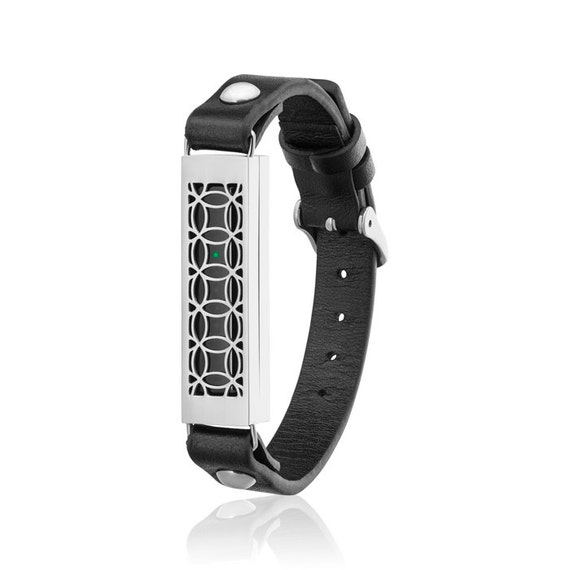 Bracelet HYDE 2 made for Fitbit Flex 2 - Black/Silver