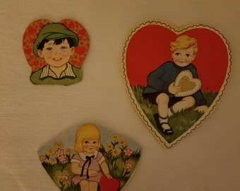 Vintage Valentine Day Cards