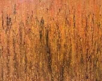 Abstract Rain #1 -  Original Abstract Art