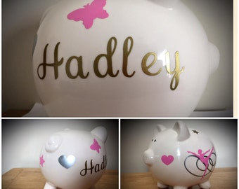 All occasions various colors Personalized Piggy Banks