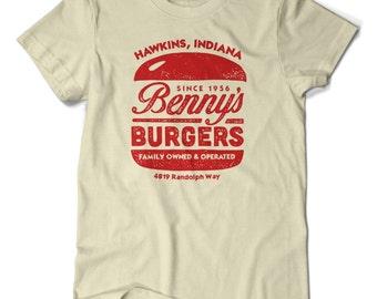 Benny's Burgers, Stranger Things T-shirt