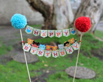 Daniel The Tiger cake topper