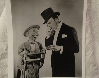 Ventriloquist Dummy Edgar Bergen Charlie McCarthy Mortimer Snerd Promotional Photo Copies