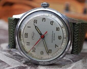 Ultramar Military Style Gents Vintage Watch c1950's-Stunning Piece!