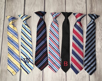 Youth Monogrammed clip-on neck tie!