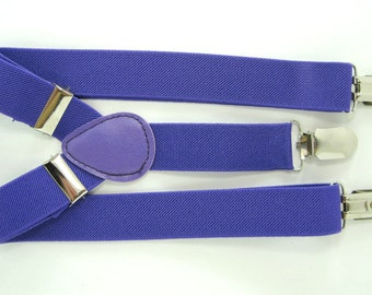 Purple Suspender  for Baby, Toddler and Boys