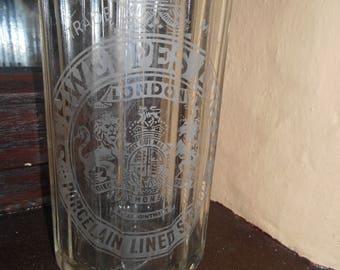 Vintage Glass Schweppes Syphon Bottle, Soda Syphon Bottle