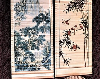 Asian Painting and hand fans