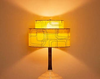 Handcrafted Retro Style Lamp and Shade 209