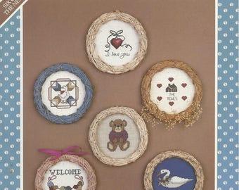 MPR's Folk Art Favorites cross stitch designs