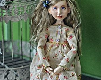 mori girl. Doll boudoir author's collection.
