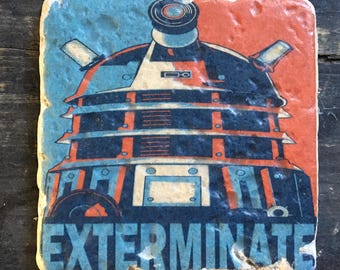 OVERSTOCK SALE: Doctor Who Exterminate! Dalek Coaster or Decor Accent