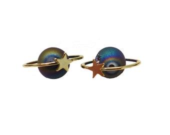 Westwood Inspired Orbit Cute Earring Ear Stud ER0935