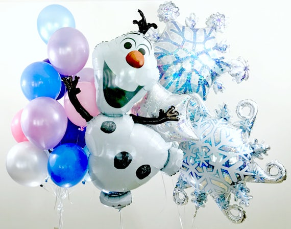 Olaf balloon quot frozen birthday decorations