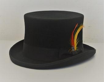 High Top Hat Steampunk Victorian 12cm height