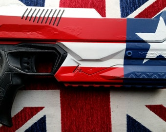 The Patriot American Flag Styled Nerf Pistol