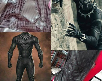 Black Panter Handmade suite Cosplay From Marvel Film series