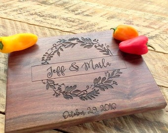 Cutting Board, Cutting Boards, Engraved Gift, Personalized Gift, Personalized Gift, Personalized Wedding Gift, Custom Wedding,Couple Gift