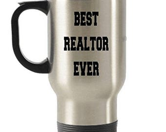 Best Realtor Ever Stainless Steel Travel Insulated Tumblers Mug