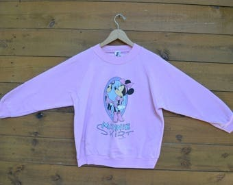 1970's Minnie Skirt The Walt Disney Company Sweater/Pullover 50/50 Sweater Size Medium Made in the USA