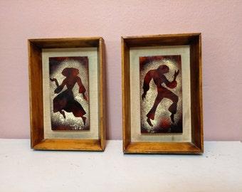 Vintage man and women Picture | Picture | Vintage Picture | man and women dance | Home decor | Wall Hanging | A vintage Decor|  vintage