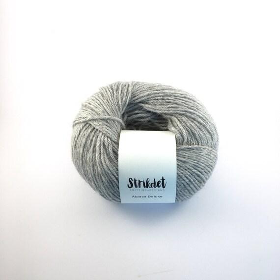 Alpaca deluxe - light grey