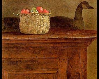 "Andrew Wyeth, Andrew Wyeth Print, American Art, American Artist, Americana, Wyeth Print, Wyeth Art, Pennsylvania Artist,""Wolf Rivers"""
