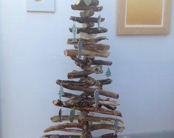 5ft driftwood christmas tree handmade