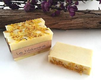 Orange / citrus / patchouli handmade soap
