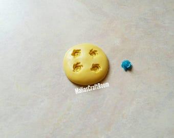 TINY Rose Mold 5mm