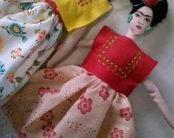 Frida Doll (Hand made)