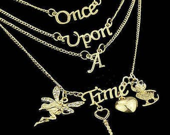 FAIRYTALE NECKLACE  Once Upon A Time  PRINCESS