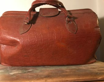 Gladstone Bag overnight bag travel vintage gem