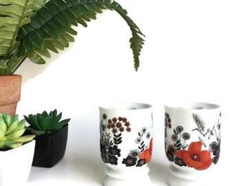 Modern Design Taper Candleholders by Schumann Porcelain Made in Germany