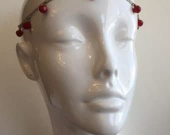 Pink Crystal Head Jewelry