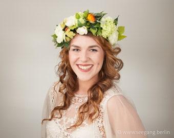 Floral Crown mediteran