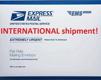 Discounted Upgrade - USPS Priority EXPRESS INTERNATIONAL, Worldwide: 3-5 business days