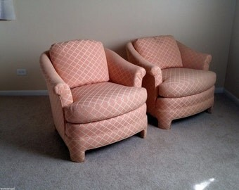 Hollywood Regency Club chairs By Century Classic original Post 1950;s