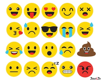 20 Emoji SVG,Emoji Silhouette Svg,Emoticon SVG,Emoji Face svg,Feeling Face SVG,Smiley face svg,Emoji Svg Cricut,emoji cut file,emoji vector