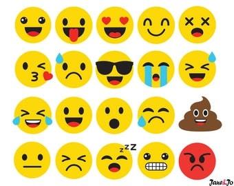 20 Emoji SVG,Emoji Silhouette Svg,Emoticon SVG,Emoji Face svg,Feeling Face SVG,Smiley face svg,Emoji Svg Cricut,emoji cut file,emoji vector