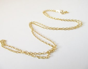 Chain Upgrade - 14K Gold Filled 20 Inch Chain