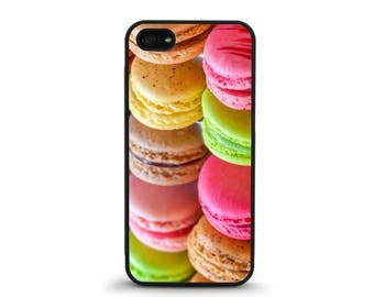 Macaroons Phone Case- iPhone 4/4s, 5/5S, 5C, 5SE, 6/6 plus, 7/7 Plus, Samsung Galaxy S4, S5, S6/edge/edge plus, S7/S7E