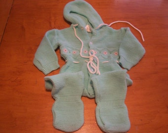 Baby Girl Acyrlic Jumper