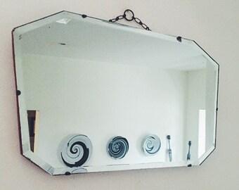 Unique Bathroom Mirror Related Items Etsy