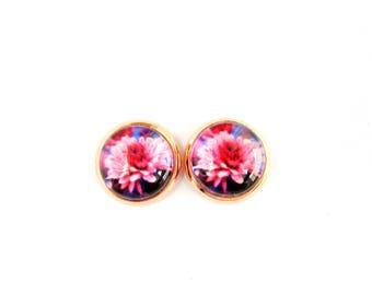Flowers #10 Stud Earrings