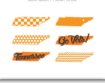 University of Tennessee Graphic Pack - Vols Graphic - Tennessee SVG File - DXF File - EPS File - Cut Files - 7 Formats Ready to Use!