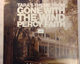 Vintage Tara's Theme From Gone With the Wind - Percy Faith LP Columbia Records In Shrink! VG+